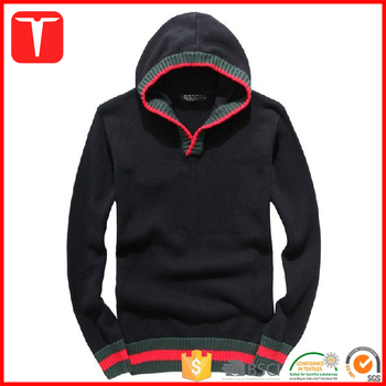 Branded Plain Hooded Pullover Cap Sweater Men , Buy Cap Sweater Men,Plain  Hooded Sweaters,Branded Pullover Sweater Product on Alibaba.com