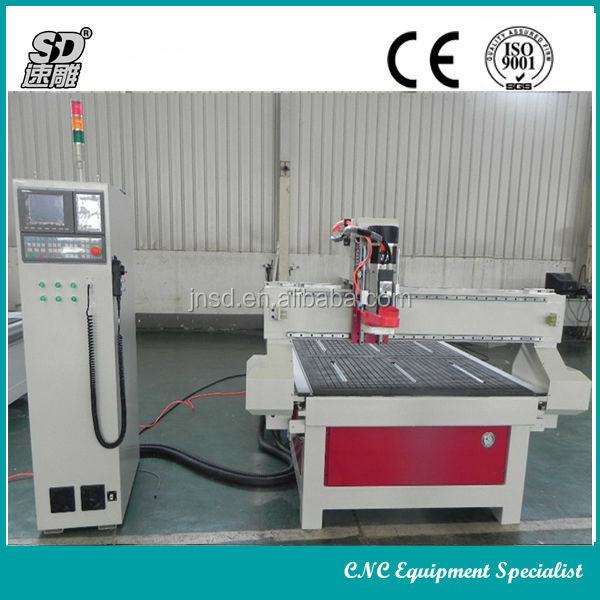 high quality !! yaskawa servo motor Italy HSD air cooling spindle China cnc router machine auto chang tools