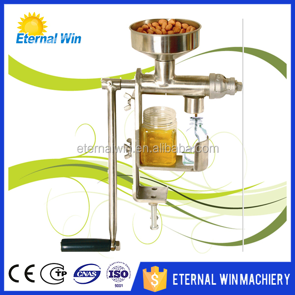 hand operate oil press / manual oil press machine