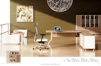 Top Quality Laminated Office Desk / modular office system furniture