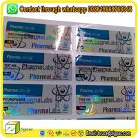 custom print adhesive 30ml 100ml dropper bottle steroids hologram testostrone 10ml vial labels