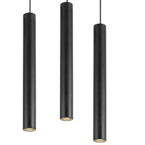 2018 Terrific Modern Iron Art Deco Lights Lighting Long Tube Pipe Metal Pendant Light Fittings