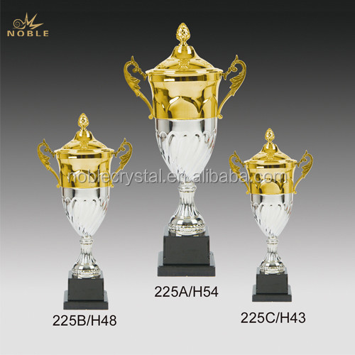 Wholesale Cheap Price Metal Gold Silver Cup Sports Trophy