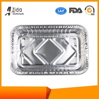Cheaper economic aluminum foil food delivery containers