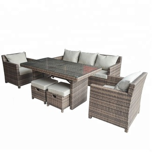 Hot Selling Cheap Elegant Garden Sectional Patio Outdoor Sofa Sets Alibaba Italian Furniture