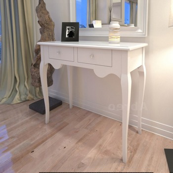 Drawer Shabby French Chic Bedroom Hall White Wooden Console Table Dressing  Table - Buy Drawer Shabby French Chic Bedroom Dressing Table Designs For ...
