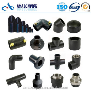 pe100 plastic poly pipe 6 inch diameter pe pipe hdpe pipe fittings manufacturer