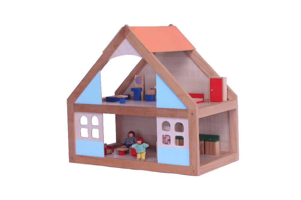 Cheap Wood House Use The High Quality Material And Paint