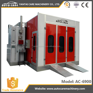 CE approved automotive paint spray booth/car baking oven/baking oven
