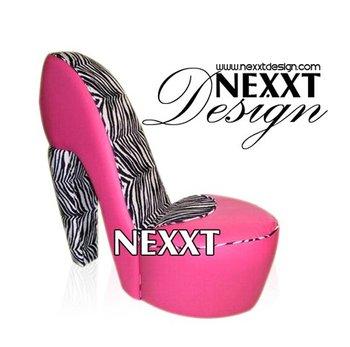 Chaussures A Talons Hauts Chaise Baroque Rose Par NexxtDesign