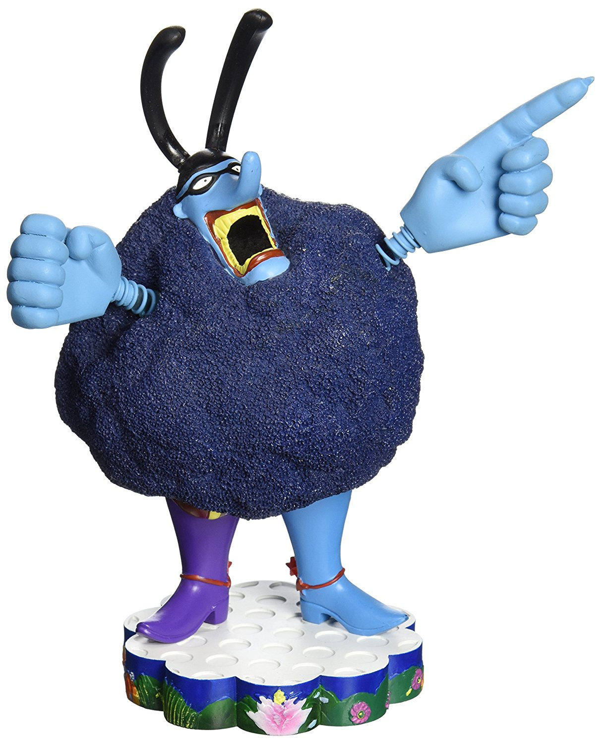 Factory Entertainment The Beatles Yellow Submarine: Chief Blue Meanie Shakems Bobble Statue
