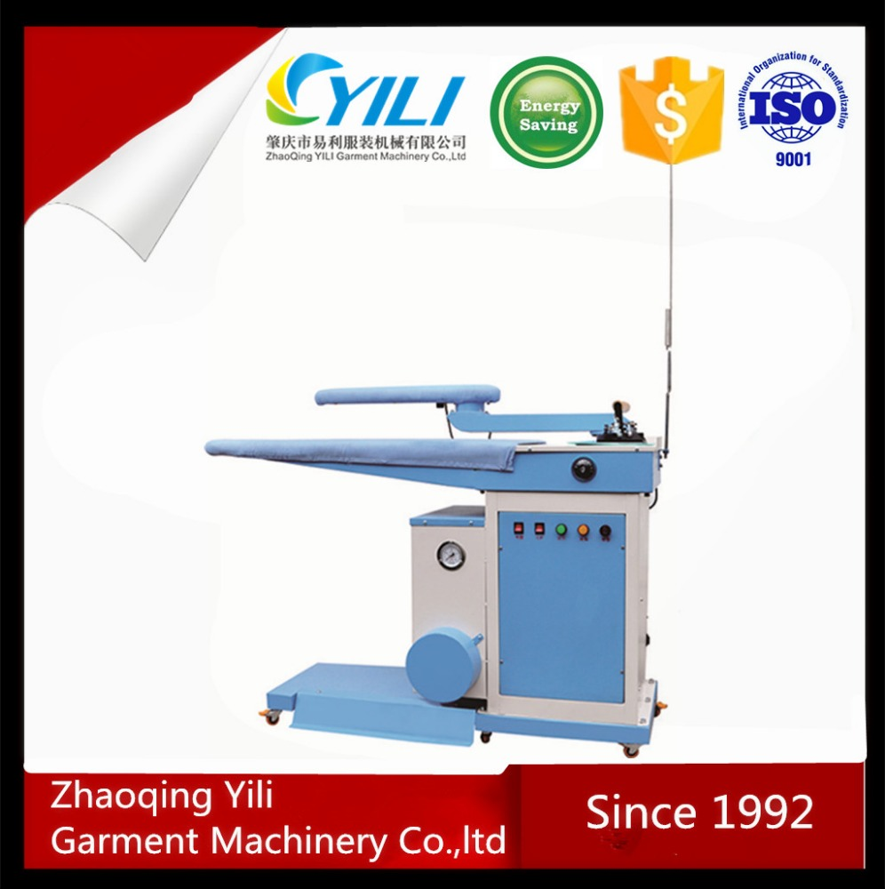 professional hotel clothes ironing press table machine
