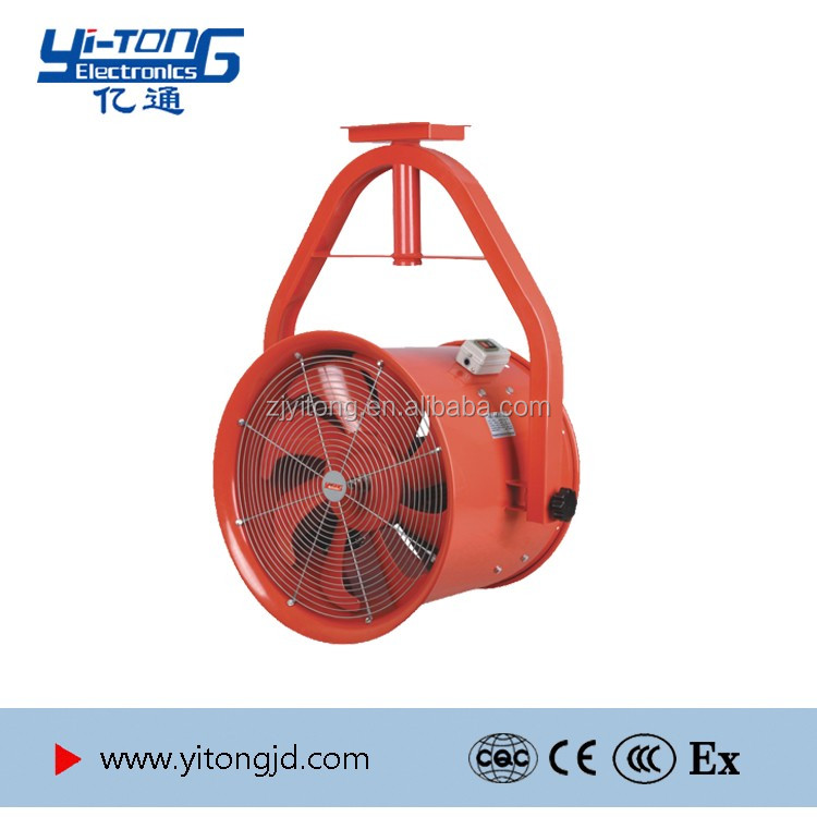 10 inch good quality electric industrial fan 2 in 1 round base without heavy