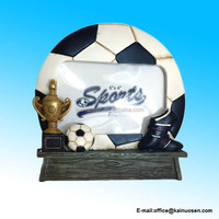 Polyresin Soccer Team Picture / Photo Frame