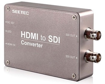 SEETEC HDMI to SDI converter for HD video information release