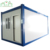 20ft Blue painted steel frame container coffee shop