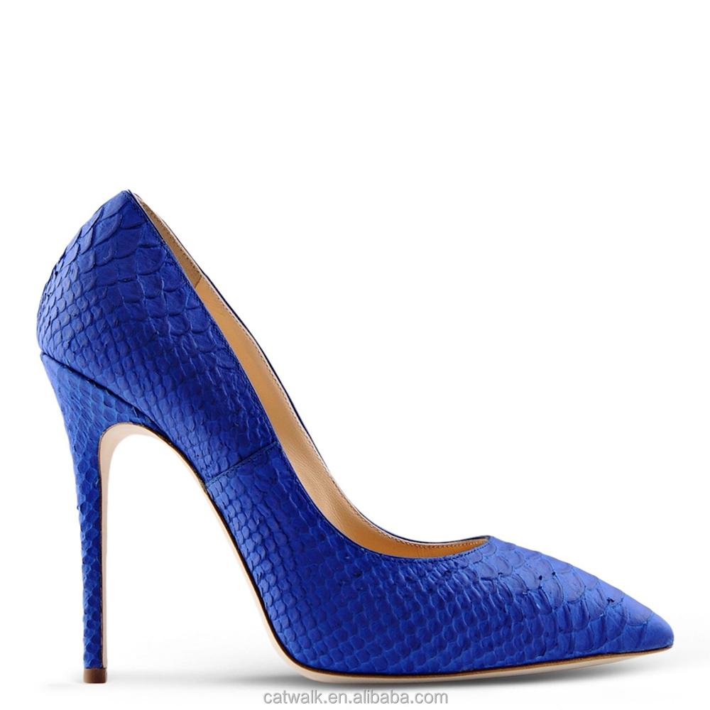 Blue Sexy Heels