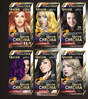 Professional no ammonia permanent hair color hair dye cream