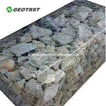 Galfan Gabion Cages Welded Wire Mesh Containers