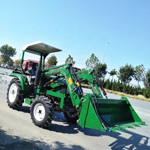 Agricultural equipment mini 304 30hp 254 25hp 20hp 4wd tractor price with front end loader for sale