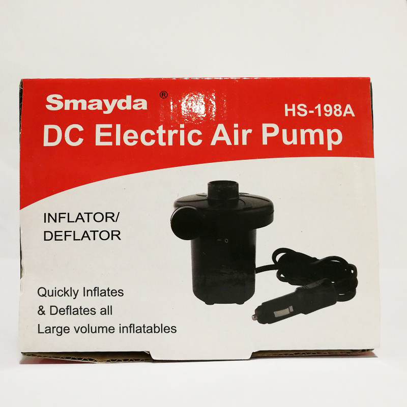 Outdoor travel inflate deflate air pump for car