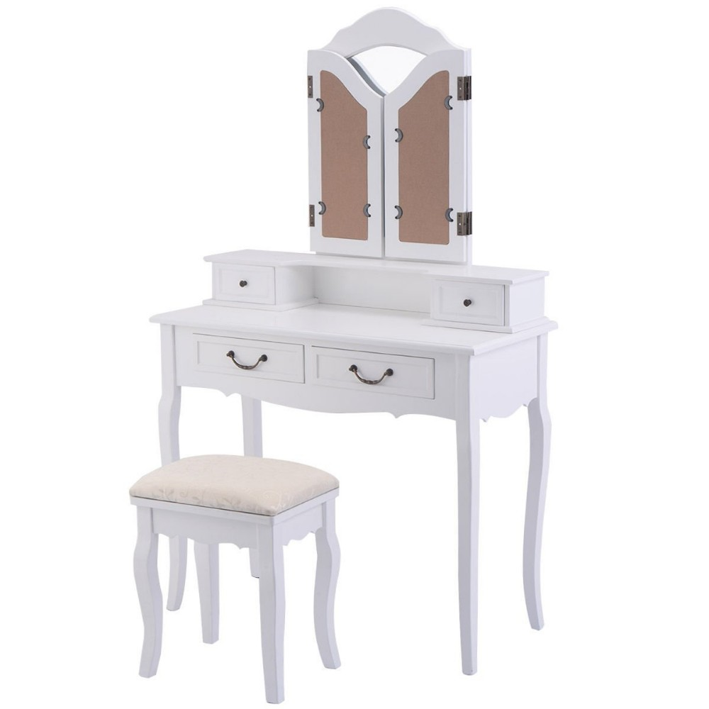 Factory Wholesale Cheap Makeup Vanity Table Dressing Table