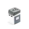 AC Power Plug Adapter For USA EU UK AUS Cell Phone Laptop Including 2.1A Smart Power USB Charging Port (2 USB)---MPC-N4