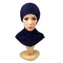 <span class=keywords><strong>Ninja</strong></span> met kin cover vlakte <span class=keywords><strong>hijab</strong></span> cap Vrouwen Jersey Volledige Cover Effen Kleur Katoen onder <span class=keywords><strong>hijab</strong></span> innerlijke cap