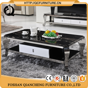 Wholesale Living Room Marble Top Center Table Design