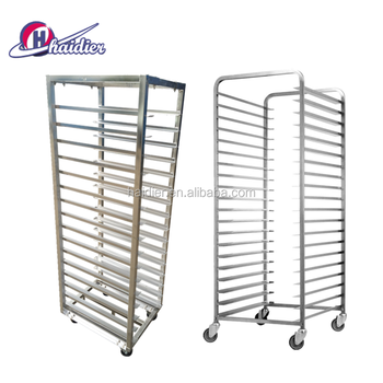 Kitchen Bread Stainless Trolley Tray Rack Cake Bakery Equipment ...