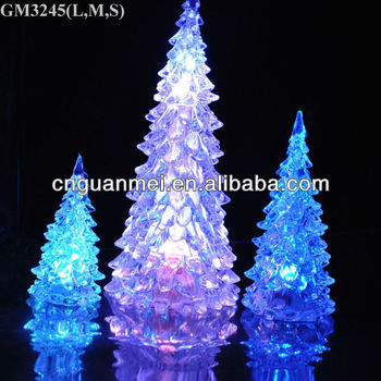 Modern glass christmas tree with led light and liquid buy modern glass christmas tree with led light and liquid sciox Gallery