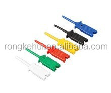 SMD IC 6 Colors Test Hook Clip Grabbers Test Probe