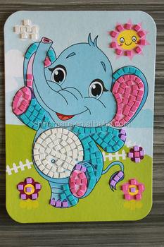 Diy Mosaico Eva Etiqueta Dos Desenhos Animados Para Criancas Buy