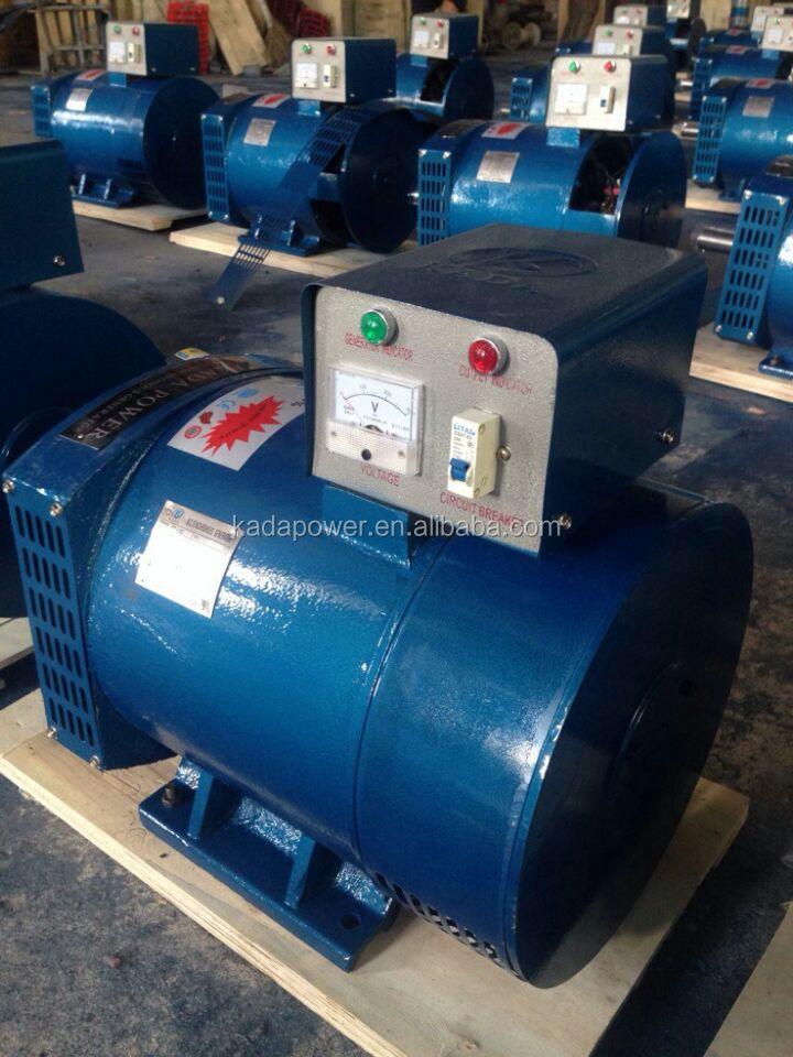 Good Ac Brush Generator Dynamo St Electric Alternator 220 Volt 3kw ...