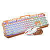 High Quality KM500 Ergonomic Gaming Kit Types Of Computer Keyboard
