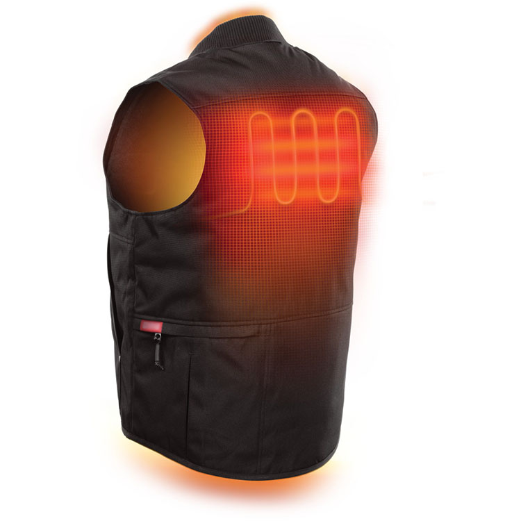 2017 New Smart Mens Heated Vests Electrical Heated Clothes