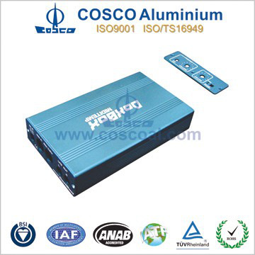 Extrusion electronic boxes aluminum