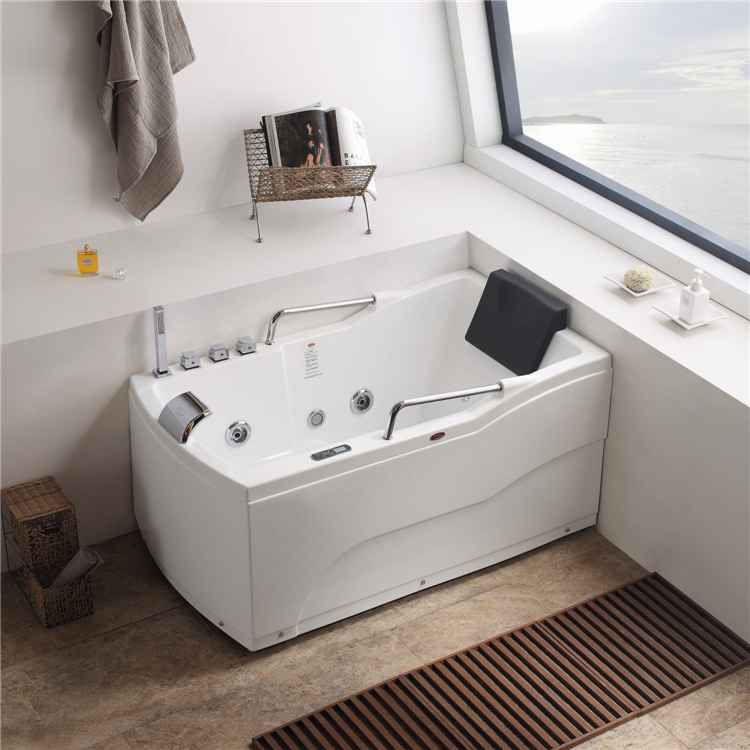 Bathroom design sitting bathtub small size bathtub massage