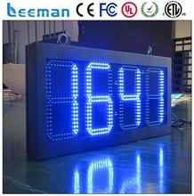 digital led wall clock digital clock module 7 segment led number display/7 segment led display/ oil price display led time sign