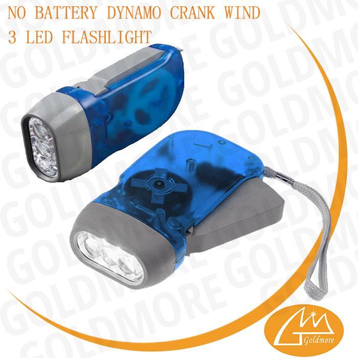 Free Sample 3 Led Hand Crank Torch,Power Hand Crank Generator Hand ...