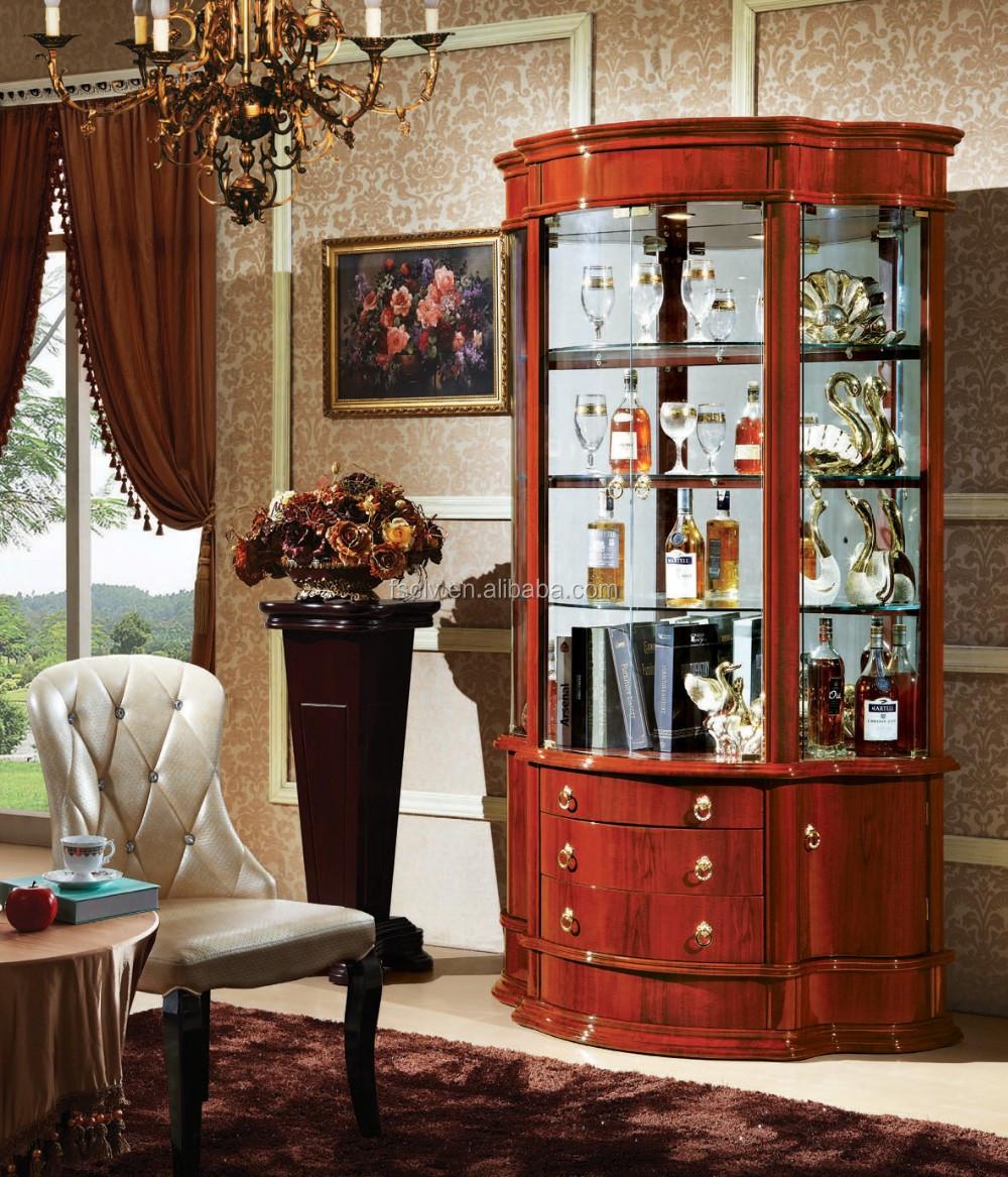 Glass Display Cabinet Showcase,Turkish Style Furniture Cabinet 833 ...