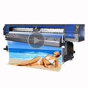 831878718 Funsunjet FS3202 3.2m / 10ft flex printing machine price in china dx5 head  indoor and