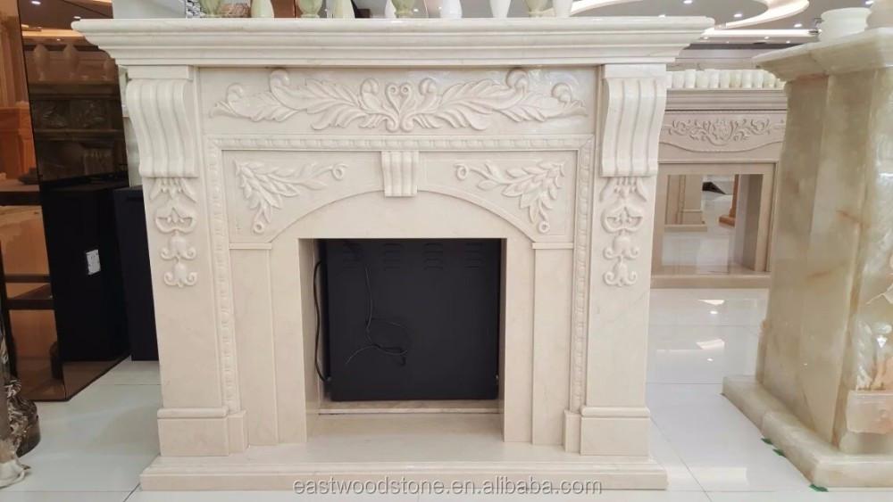 Camino In Marmo Bianco : Cornice per caminetto in marmo bianco di carrara u marmi sgambaro