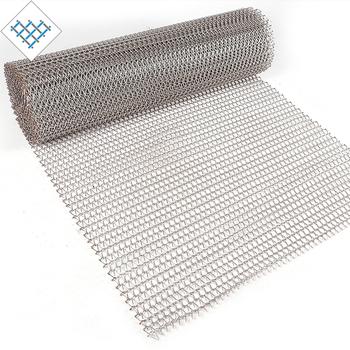Conveyor Stainless Steel Metal Wire Mesh Belt For Roasting Food ...