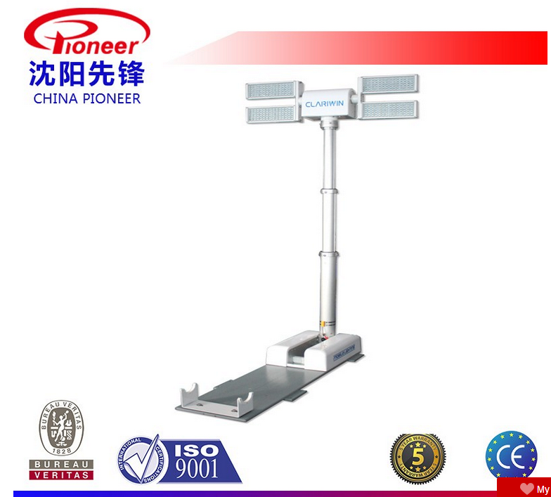 LED lamp type 600w telescopic light tower -CLD22-4150
