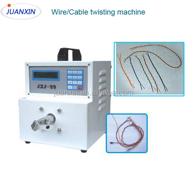 Automatic wire/cable twisting machine