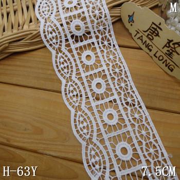 75cm Chemical Lace Trim White Crochet Milk Yarn Lace Buy Milk