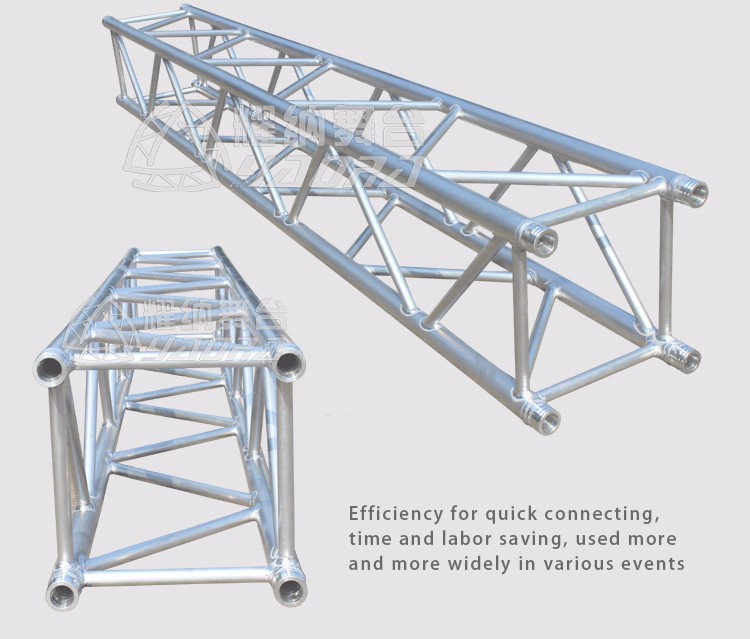 Chinese Factory Supply Aluminum Studio Truss Square Tower Truss Hot sale Triangular Roof Truss