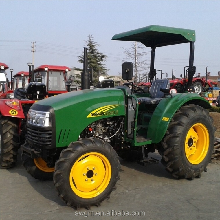 CE certificate DQ554 55HP 4x4 4WD Belarus farm tractor with best price