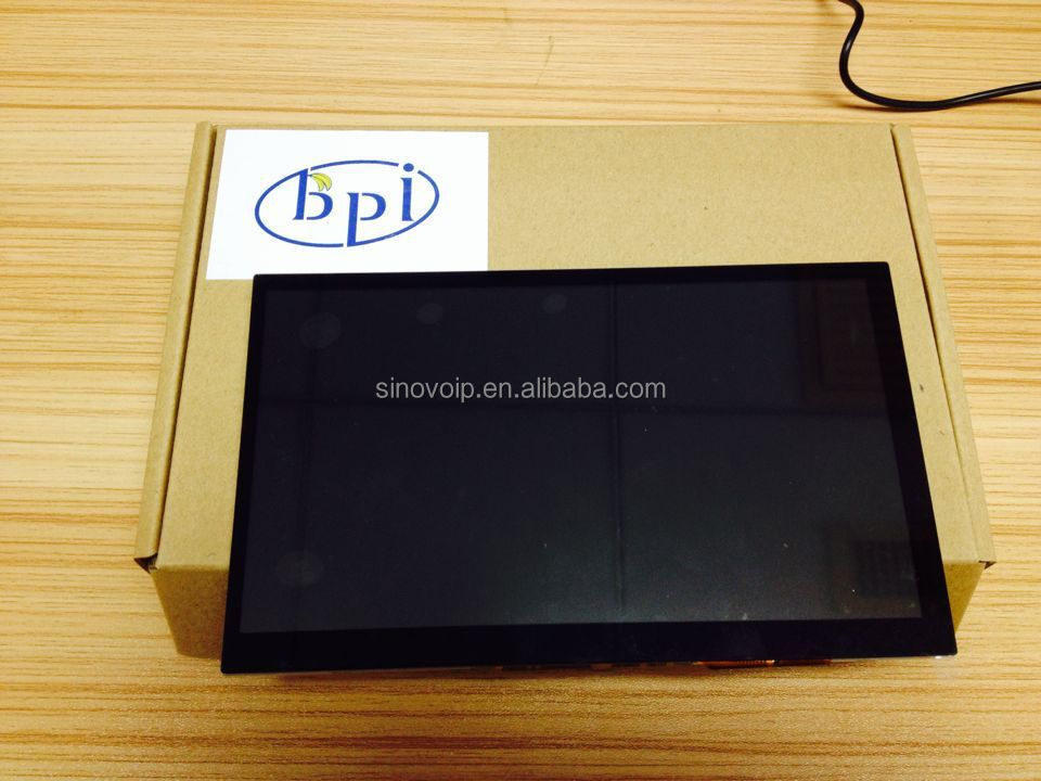 Nieuwste screen met 1024*600resolution 2015, banaan pi/pro interface 7 inch touch screen lcd module rgb ft5316